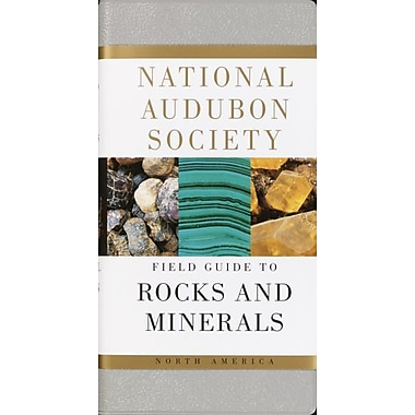 National Audubon Society Field Guide To North American Rocks And Minerals Vinyl Bound, Used Book
