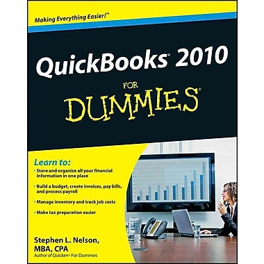 QuickBooks 2010 For Dummies Stephen L. Nelson Paperback