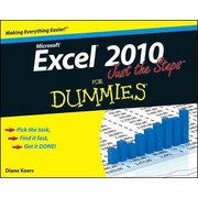 Excel 2010 Just the Steps for Dummies Diane Koers Paperback