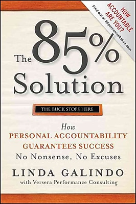 The 85% Solution Linda Galindo Hardcover
