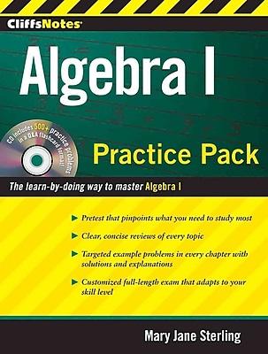 CliffsNotes Algebra I Practice Pack Mary Jane Sterling Paperback