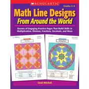 Math Line Designs From Around the World Cindi Mitchell Paperback