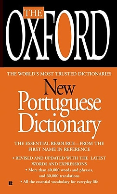 The Oxford New Portuguese Dictionary Oxford University Press Paperback