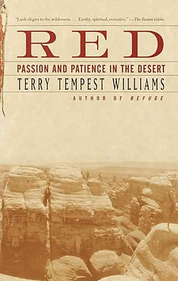 Red Passion and Patience in the Desert Terry Tempest Williams Paperback