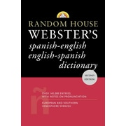 Random House Webster's Spanish-English English-Spanish Dictionary David L. Gold Paperback