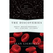 The Discoveries: Great Breakthroughs in 20th-Century Science Alan Lightman Paperback
