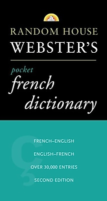 Random House Webster's Pocket French Dictionary 2nd Edition Random House Paperback