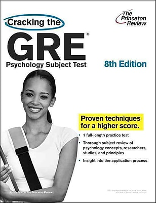 Cracking the GRE Psychology Subject Test 8th Edition Princeton Review Paperback