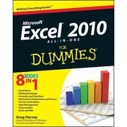 Excel 2010 All-in-One For Dummies Greg Harvey Paperback