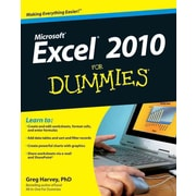 Excel 2010 For Dummies Greg Harvey Paperback