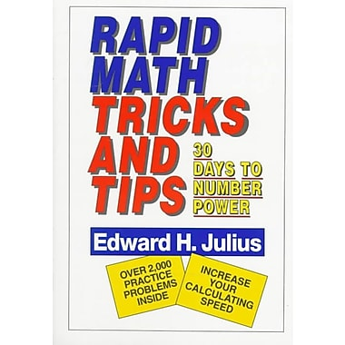 Rapid Math Tricks & Tips Edward H. Julius Paperback