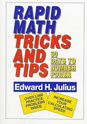 Rapid Math Tricks & Tips Edward H. Julius Paperback