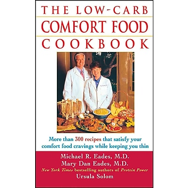 The Low-Carb Comfort Food Cookbook Ursula Solom , Mary Dan Eades Paperback
