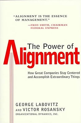 The Power of Alignment George Labovitz, Victor Rosansky Hardcover
