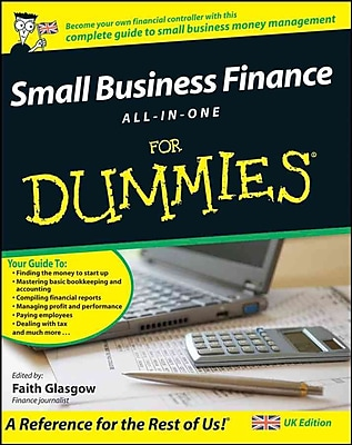 Small Business Finance All-in-One For Dummies Faith Glasgow Paperback