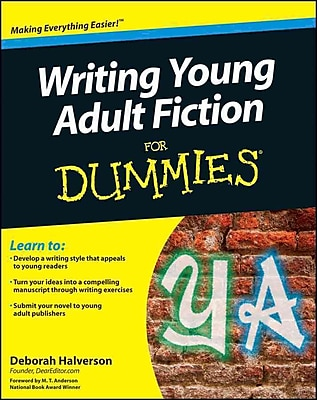 Writing Young Adult Fiction for Dummies Deborah Halverson Paperback
