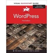 WordPress: Visual QuickStart Guide Matt Beck , Jessica Neuman Beck Paperback