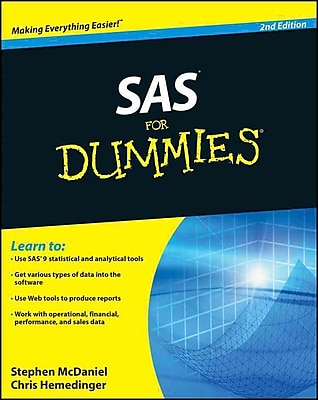 SAS For Dummies Stephen McDaniel, Chris Hemedinger Paperback