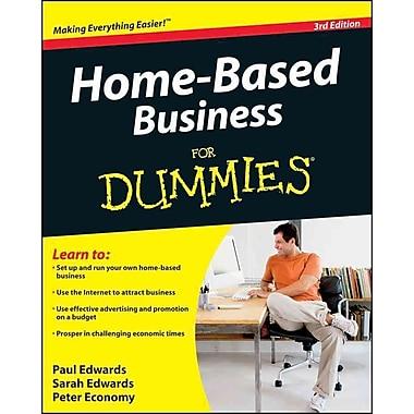 Home Based Business For Dummies Paul Edwards, Sarah Edwards, Peter Economy Paperback