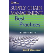 Supply Chain Management Best Practices (Wiley Best Practices)  David Blanchard Hardcover