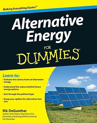 Alternative Energy For Dummies Rik DeGunther Paperback