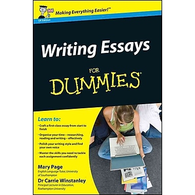 Writing essays for dummies mary page carrie winstanley paperback