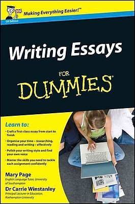 Writing Essays for Dummies Mary Page, Carrie Winstanley Paperback