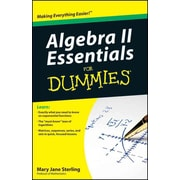 Algebra II Essentials For Dummies Mary Jane Sterling Paperback
