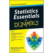 Statistics Essentials For Dummies Deborah J. Rumsey Paperback