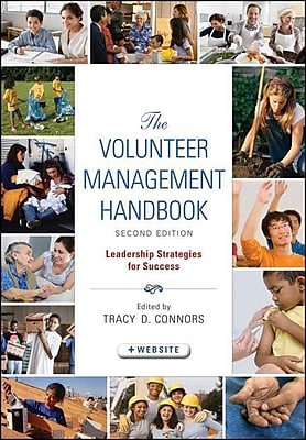 The Volunteer Management Handbook Tracy D. Connors Hardcover