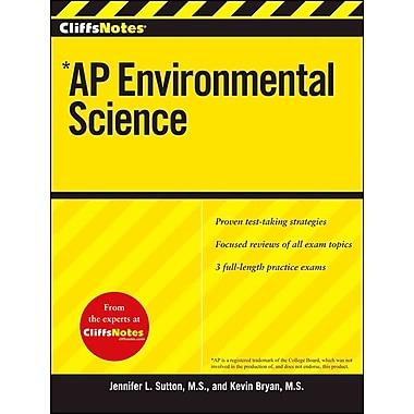 CliffsNotes AP Environmental Science Jennifer Sutton, Kevin Bryan Paperback