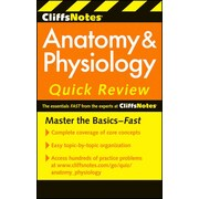 CliffsNotes Anatomy & Physiology Quick Review, 2ndEdition (Cliffsnotes Quick Review) Paperback