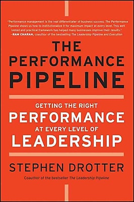 The Performance Pipeline: Getting the Right Performance At Every Level of Leadership Hardcover