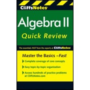 CliffsNotes Algebra II QuickReview, 2nd Edition (Cliffs Quick Review) Paperback