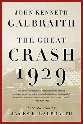 The Great Crash 1929 John Kenneth Galbraith Paperback