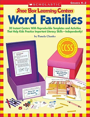 Word Families (Shoe Box Learning Centers) Pamela Chanko Paperback