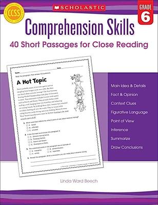 Comprehension Skills Linda Beech Grade 6
