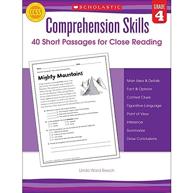 Comprehension Skills Linda Beech Grade 4