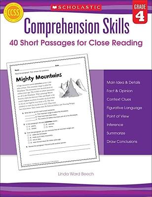 Comprehension Skills Linda Beech Grade 4