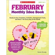 February Monthly Idea Book Karen Sevaly Paperback
