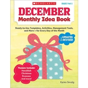 December Monthly Idea Book Karen Sevaly Paperback