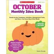 October Monthly Idea Book Karen Sevaly Paperback