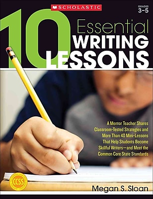 10 Essential Writing Lessons Megan Sloan Paperback