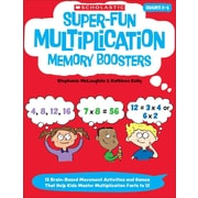 Super-Fun Multiplication Memory Boosters  Kathleen Kelly, Stephanie McLaughlin Paperback