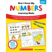 Now I Know My Numbers Learning Mats, Grades PreK-1 Lucia Kemp Henry Paperback