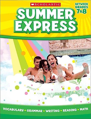 Summer Express Between Seventh and Eighth Grade Paperback