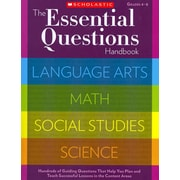 The Essential Questions Handbook Scholastic Teaching Resources Paperback