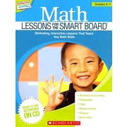 Math Lessons for the SMART Board Scholastic Teaching Resources Paperback Grades K-1