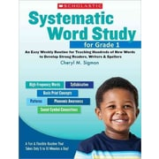 Systematic Word Study For Cheryl Sigmon