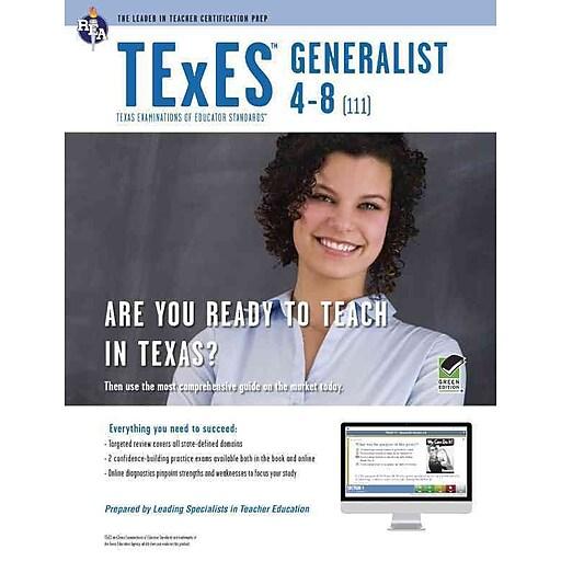 TExES Generalist 4-8 (111) Book + Online (TExES Teacher ...